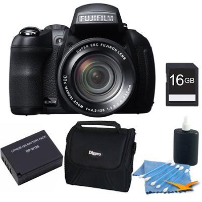 FinePix HS35EXR Digital Camera 16GB Kit