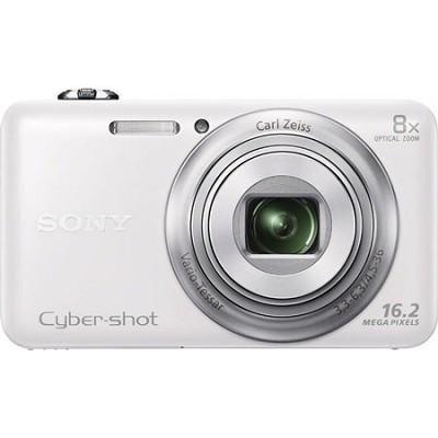 DSC-WX80 16 MP 2.7-Inch LCD Digital Camera - White- OPEN BOX
