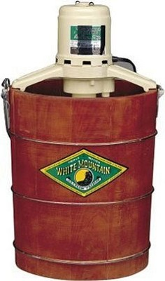 4-Quart Electric White Mountain Ice Cream Freezer