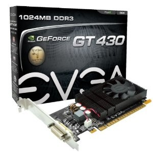 GeForce GT 430 1024 MB DDR3 PCI Express 2.0 DMS Graphics Card