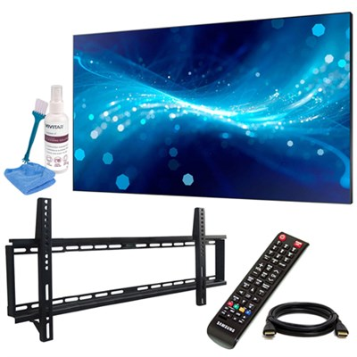 UH46F5 46` Screen LED-Lit Commercial Monitor w/ Wall Mount Kit