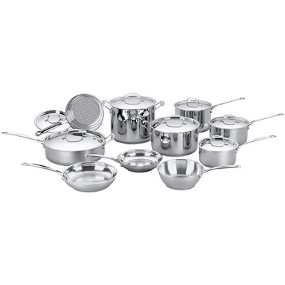 Chef's Classic Stainless Cookware 17 pc.Set (77-17)