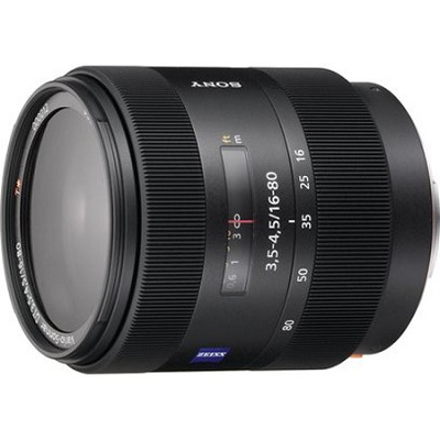SAL-1680Z - Carl Zeiss Vario-Sonnar T DT 16-80mm f/3.5-4.5 Zoom Lens - OPEN BOX
