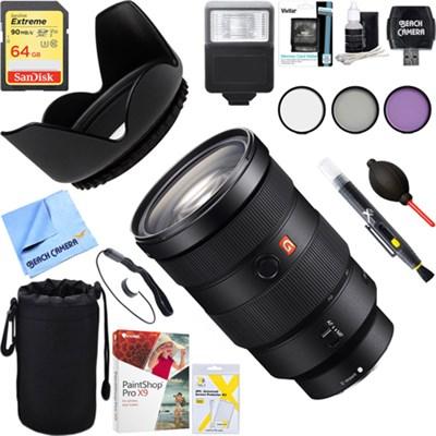 FE 24-70mm F2.8 GM Full Frame E-Mount Lens SEL2470GM + 64GB UltimateKit