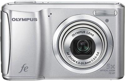 FE-47 14MP 2.7` LCD Digital Camera (Silver)