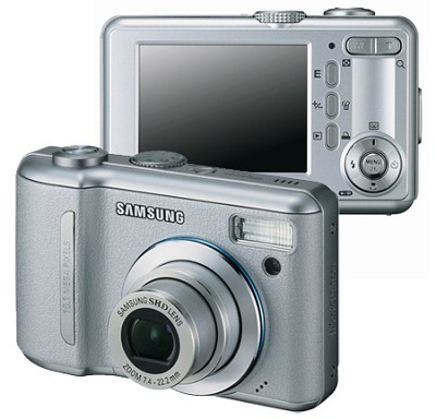 Digimax S1000 10.1 MP Digital Camera {Silver}