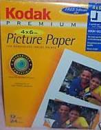 Premium Paper 4x6, 12 Sheets, 24 Prints (Glossy)