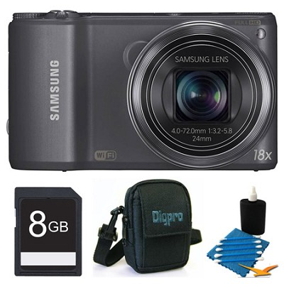 WB250F 14.2 MP SMART Camera Grey 8GB Kit