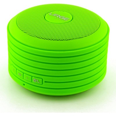 Bluetooth Disc Speaker with Built-In Mic (Green)