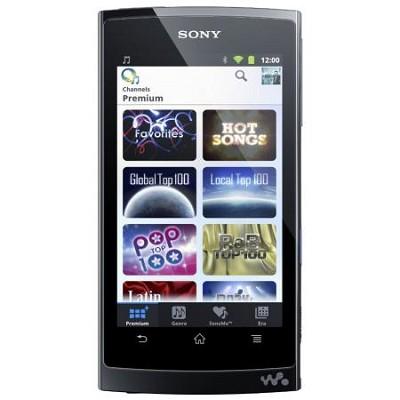 NWZ-Z1040BLK Walkman Mobile Entertainment Player 8GB