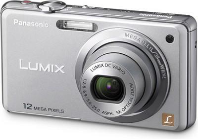 DMC-FH1S LUMIX 12.1 Megapixel Digital Camera (Silver)