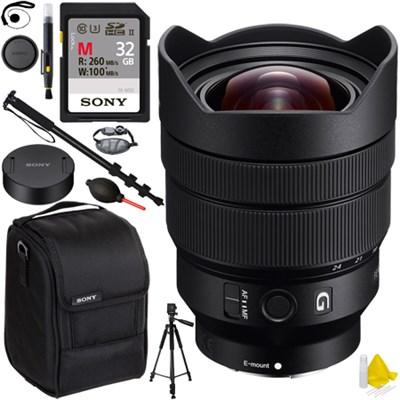 SEL1224G FE 12-24mm F4 G E-Mount Ultra Wide-angle Zoom Lens 32GB Kit