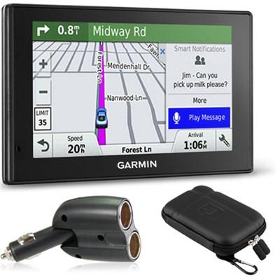 010-01539-01 DriveSmart 50LMT GPS Navigator Charger Bundle