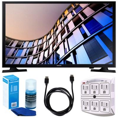 32-Inch 720p Smart LED TV (2017 Model) + Accessories Bundle