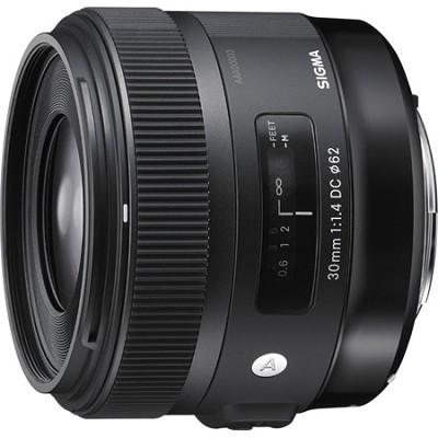 30mm F1.4 ART DC HSM Lens for Canon Digital SLR Cameras - OPEN BOX