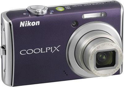 COOLPIX S620 Digital Camera (Noble Purple)