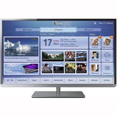 32 Inch Cloud LED TV 1080p ClearScan 120Hz (32L4300) OPEN BOX