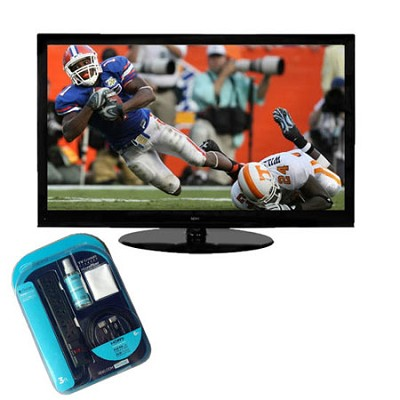SC-552GS  55 Inch 1080p 120Hz LCD HDTV + HDMI Cable + Surge Protector + Cleaner