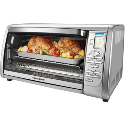 Digital Touchpad Toaster Oven - CTO6335S