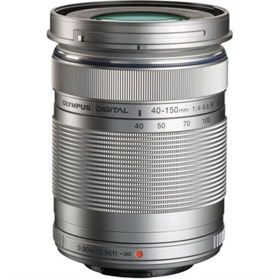M. Zuiko 40-150mm f4.0-5.6 R Lens (Silver) Refurbished