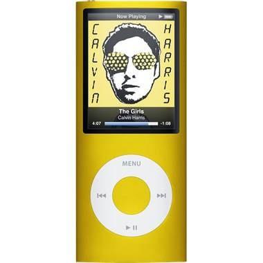 iPod Nano 4th Generation 16GB MP3 Player - Yellow