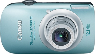 PowerShot SD960 IS Digital ELPH Digital camera -  - 12.1 Megapixel - 4 x blue