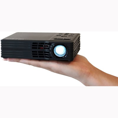 LED Showtime 3D LED Home Theater Projector with 1280x800 Native Resolution