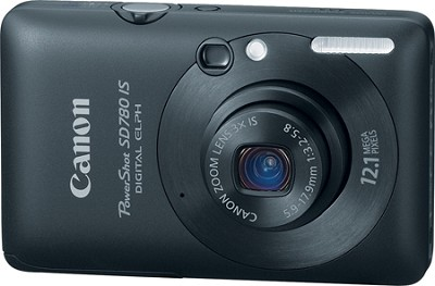Powershot SD780 IS 12MP Digital ELPH Camera (Black)