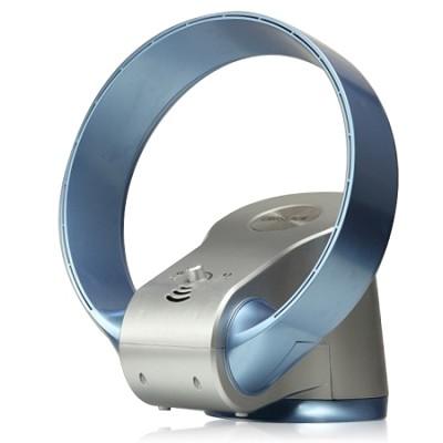12 inch Bladeless Oscillating Fan Silver/Blue