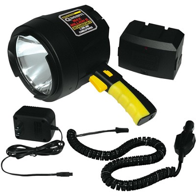 Q-Beam Max Million II Halogen AC & DC Rechargeable Spotlight - 820 Lumens
