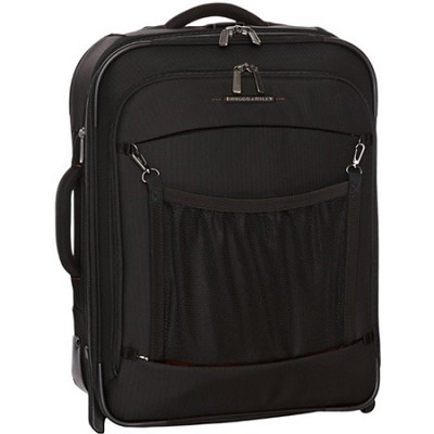 Transcend 20` Carry-On Expandable Wide-body Upright - Black