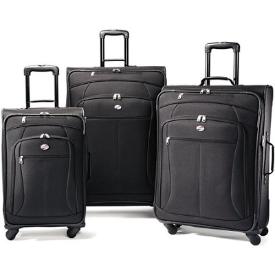 AT Pop 3 Piece Spinner Luggage Set (Black) 47597-1041