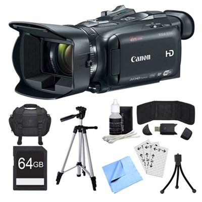 VIXIA HF G40 Camcorder, 64GB Card, and Accessories Bundle