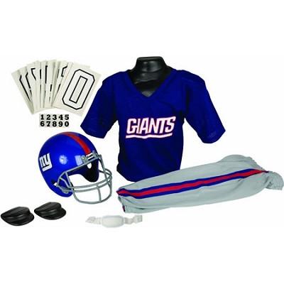 NFL Deluxe Team Small Uniform Set - New York Giants