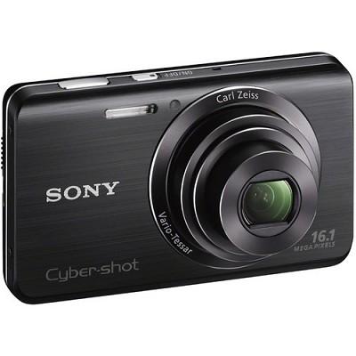 Cyber-shot DSC-W650 Black Compact Digital Camera 3 inch LCD, HD Video