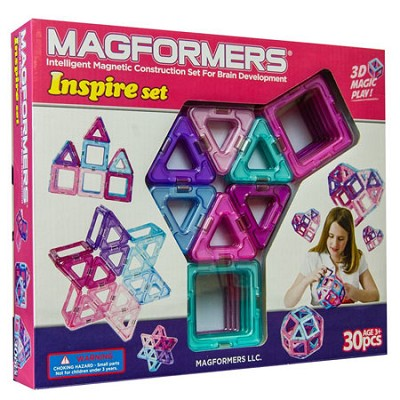 63097 Inspire 30pc Magnetic Construction Set