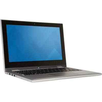 Inspiron 11 11.6` Touch HD i3000-12101SLV 128GB Intel Pentium N3700 Notebook PC