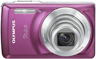 Stylus 7030 14MP 2.7` LCD Digital Camera (Purple)