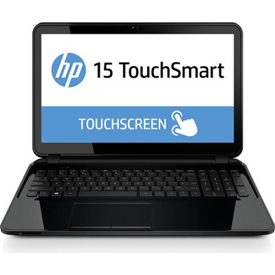 TouchSmart 15-g060nr 15.6` HD Notebook PC - AMD Quad-Core A8-6410 APU Processor