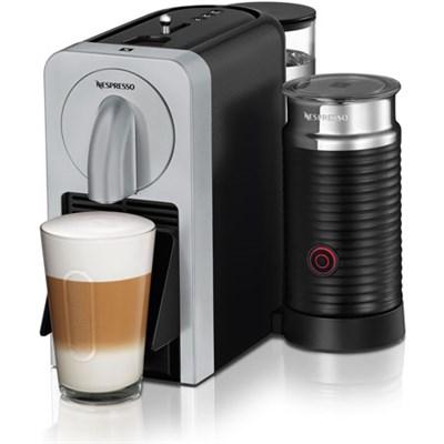 Prodigio Smart Connected Coffee, Espresso Maker/Milk Frother (Silver) - OPEN BOX