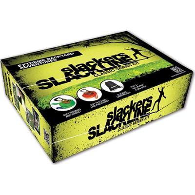 50' Slackline Classic Set with Bonus Teaching Line