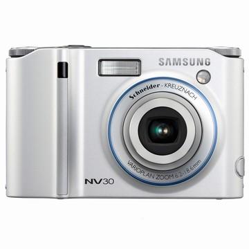 NV30 8MP 2.5` LCD Digital Camera (Silver) - Open Box