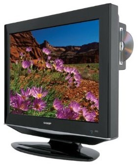 LC32DV27UT 32-Inch LCD TV with built-in DVD