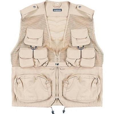 Combat Tactical Vest Khaki Medium