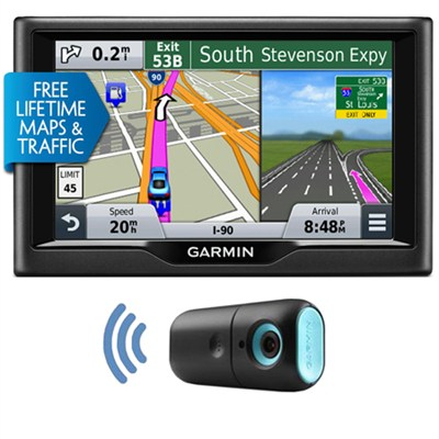 nuvi 57LMT 5.0` Essential Series 2015 GPS Navigation System with Maps & Traffic