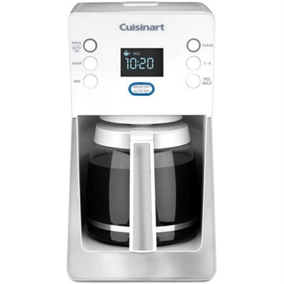 Perfec Temp 14-Cup Programmable Coffeemaker, White - Factory Refurbished