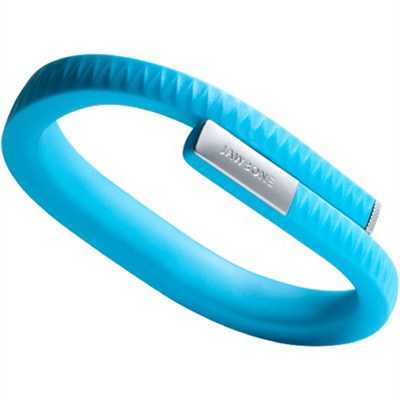 UP by Jawbone - Large Wristband - Retail Packaging - Blue - OPEN BOX