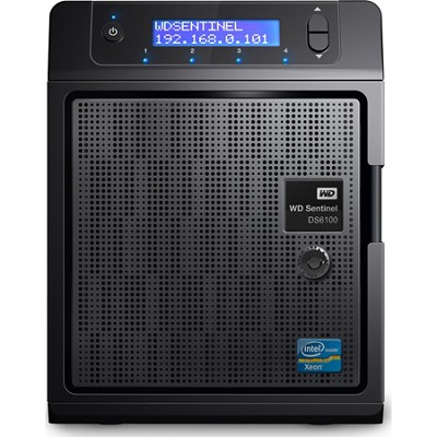 8TB WD Sentinel DS6100 Ultra-Compact Storage Plus Server