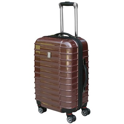 Freerun 20-inch Carry On Luggage Hardside Spinner Suitcase (Brick) - 2020T6003