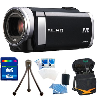GZ-E200BUS - HD Everio Camcorder f1.8 40x Zoom 3.0` Touchscreen 16GB Memory Kit
